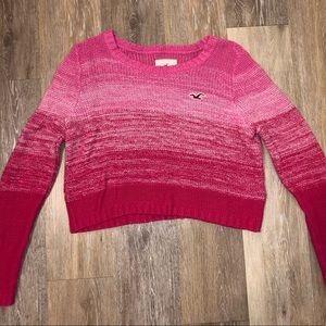 Hollister Pink Hombre Sweater (SIZE M)